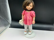 Gabriele Müller Porzellan Puppe 26 cm. Top Zustand