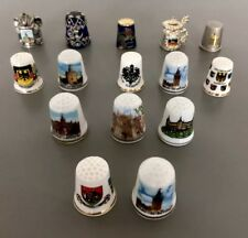 Lot Of 15 Thimbles Dedales Dé À Coudre A Must Add To Your Collection