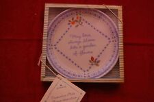 "Hallmark Collector Plate - ""May Love Always Bloom"""