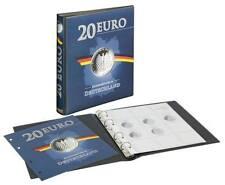 Lindner Vordruckalbum 20 Euro-Silbermünzen Bundesrepublik Deutschland 2016-2017