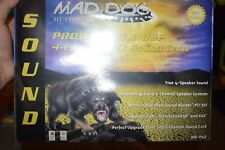 Mad Dog Prowler 4.1 DSP 4-Channel PCI Sound Card NEW SEALED IN BOX