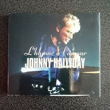 JOHNNY HALLYDAY  L'HYMNE A L'AMOUR LIVE