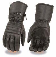 Black, XXX-Large Hot Leathers Fingerless Leather Gloves