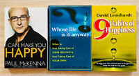 I Can Make You Happy + Whose Life Is It Anyway + 9 Habits Of Happiness Book Set