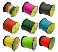 300M Fishing Line 4 Stands 4 Weave 6LB-100LB Multicolor Fishing PE Braided Line