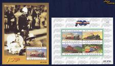 1997 THAILAND STATE RAILWAY CENTENARY TRAIN STAMP SOUVENIR SHEET S#1712a MNH