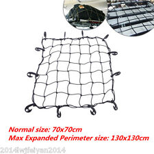 Auto Car Elastic Bungee Cargo Roof Carrier-Rooftop Basket Net with Hooks 70*70cm