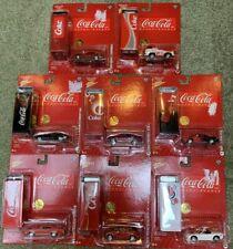 8 - 2005 Johnny Lightning Coca Cola 1968 Dodge, Camaro, Pontiac GTO All Misp Lot