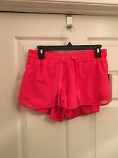 """Lululemon Hotty Hot Short 2.5"""" Inseam Sz 10 NWT LSCL Luscious Coral Color Liner"""