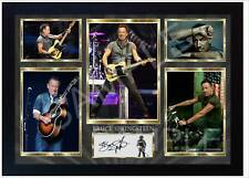 Bruce Springsteen Born to Run RSIGNED FRAMED PHOTO PRINT AND Mini LP