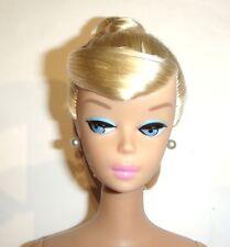 Nude Barbie Doll Blonde Swirl Ponytail Vintage Repro vn63