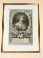 MARIE-JEANNE-BAPTISTE DUCHESSE DE SAVOIE 1644-1724 ép.du duc Charles-Emmanuel II