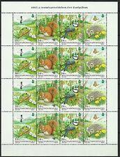 Hongrie Hungary Oiseaux Birds Vögel Ecureuil Hérisson Grenouille ** 1995 15€