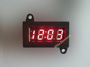 Digital LED Clock for Car Motorcycle Motorbike Scooter Bike Yoke Mount Tool Kit