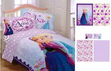 Disney FROZEN Movie Girls Twin COMFORTER + SHEETS SET Anna+Elsa Bedding Bed Room