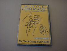 MODERN COIN MAGIC 4 DVD SET MORE THAN 170 SLEIGHTS & TRICKS ILLUSIONS VANISH
