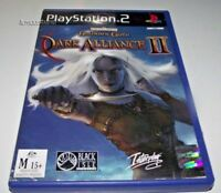 Baldur's Gate Dark Alliance II PS2 PAL *Complete*