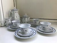 Rosenthal Bavaria 4 Cup and Saucer and Plates Coffee 15 Piece Set