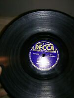 VINTAGE DECCA 78 RPM RECORDS THE ANDREWS SISTERS DADDY AND SLEEPY SERENADE