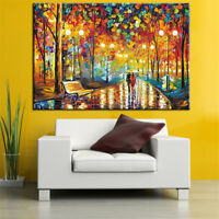 A Couple Under the Light DIY 5D Diamond Painting Embroidery Cross Crafts  New