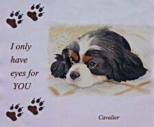 CAVALIER KING CHARLES SPANIEL TRI DOG LENS CLEANING CLOTH GLASSES IPAD COMPUTER