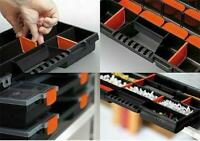 Parts Craft Fixings Organiser Storage Case With Removable Plastic Boxes 39x29x5