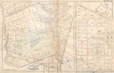 1883 E. ROBINSON, NEW ORLEANS, LOUISIANA, FAIR GROUNDS, COPY PLAT ATLAS MAP