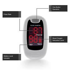 Cms50m Contec Finger Pulse Oximeter Spo2 Pulse Heart Rate Monitor Pr Grey New
