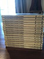 The Ocean World of Jacques Cousteau Volumes 1 Through 16 Book Set 1973