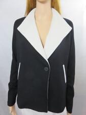 NEW Bailey 44 Black & Ecru Single Button Jacket/Blazer Size XS NWT $390