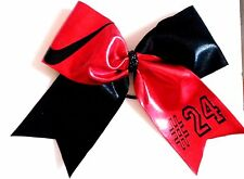 Softball Soccer Volleyball Cheer Nike swoosh  Spandex Hair Bow Can customize!