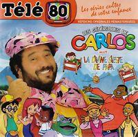 TELE 80 : LES GENERIQUES CARLOS La divine sieste de papa T'as l'bonjour d'Albert