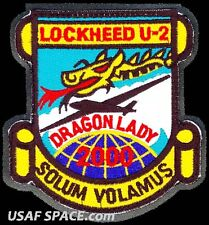 USAF 5th RECONNAISSANCE SQ.U-2 - 2000 HOURS - DRAGON LADY - DOD ORIGINAL PATCH