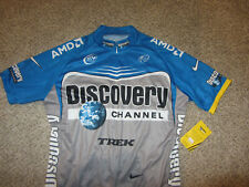 NWT NEW 2006 Discovery Channel Tour De France Cycling Nike Pro Bicycle Jersey XL