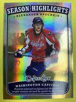 2008-09 O-Pee-Chee Season Highlight #SH-2 Alex Ovechkin Washington Capitals Foil