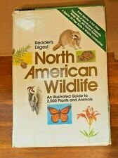 Readers Digest North American Wildlife Illustrated Guide (1982, Hardcover)