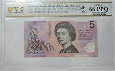 2008 Australia $5 PCGS66 PPQ GEM UNC 'POLYMER' {P-57f}