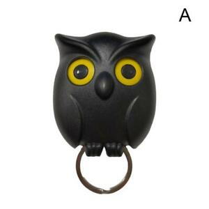 Night Owl Magnetic Wall Key Holders Keychains Hook Hanging Key It Will Open Eyes