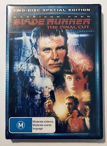 Blade Runner The Final Cut (DVD, 2-Disc Set) NEW & SEALED** Harrison Ford R4