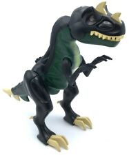 Lego Used Dark Green Dinosaur Mutant Tyrannosaurus Rex with Light-Up Eyes
