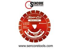 "Husqvarna Excel 3000 6"" Red Soff Cut Ultra Early Entry Diamond Blade"