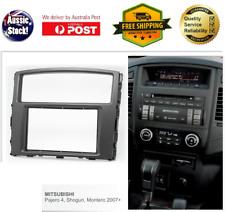 Fascia facia Mitsubishi Pajero Double Two 2 DIN Dash Kit