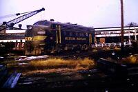 Duplicate Slide Western Maryland Railway WM 61 F7 Black 1973
