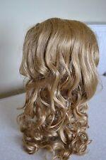 Mona Lisa hair piece-Ariel-Peine de pelo largo rubio en francés