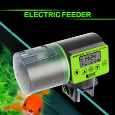 200 ML Adjustable Automatic Fish Tank Food Feeder For Aquarium With LCD Screen