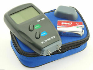 4-Pin Digital Moisture Meter PRO Damp Detector Timber Wood Tester Plaster Sensor