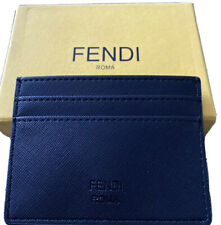 NEW FENDI Men credit card wallet Lether Spoof Small Monster (with Box)
