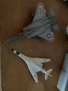 Vintage ERTL 40158 Force One B-1 Bomber Jet Airplane US Air Force Diecast 1988