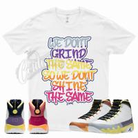 GRIND T Shirt for Jordan 9 Change The World Desert Berry Cactus Healing Orange