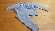 Schlafanzug blau Glitzer Frozen Eiskönigin C&A 92 NEU Pyjama